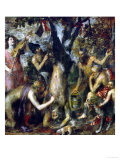 The Flaying of Marsyas, 1570-1575 Gicle-tryk af Titian (Tiziano Vecelli)