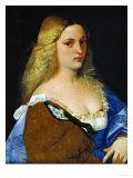 Violante Giclée-tryk af Titian (Tiziano Vecelli)