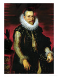Archduke Albrecht VII (1559-1621), Governor of the Netherlands Giclee Print by Peter Paul Rubens