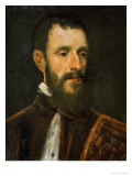 Portrait of a Procurator, circa 1580 Giclee Print by Jacopo Robusti Tintoretto