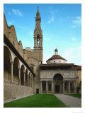 Chapel of the Pazzi Family, 1430 Giclée-tryk af Filippo Brunelleschi