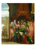 The Resurrection of the Daughter of Jairus Giclee Print by Paolo Veronese