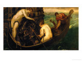 The Rescue of Princess Arsinoe Giclee Print by Jacopo Robusti Tintoretto