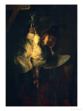 The Bittern Hunter, 1639 Giclee Print by  Rembrandt van Rijn