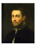 Young Man with Beard, 1548 Giclee Print by Jacopo Robusti Tintoretto