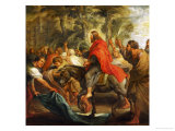 Christ's Entry into Jerusalem, 1632 Giclee Print by Peter Paul Rubens