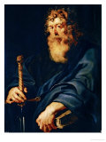 Saint Paul Reproduction proc&#233;d&#233; gicl&#233;e par Peter Paul Rubens