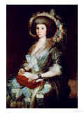 Dona Isabel Lobos De Porcel, Before 1805 Giclee Print by Francisco de Goya