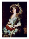 Dona Isabel Lobos De Porcel, Before 1805 Giclee Print by Francisco de Goya