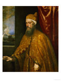 Doge Francesco Venier Giclee Print by  Titian (Tiziano Vecelli)
