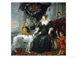 Alathea Talbot, Countess of Shrewsbury, Wife of Thomas Howard, Count Arundel Giclee Print by Peter Paul Rubens
