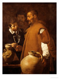 Water-Seller in Sevilla, Spain Giclee Print by Diego Vel&#225;zquez