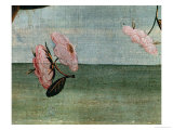 The Birth of Venus-Detail of Flower Blossoms Giclee Print by Sandro Botticelli