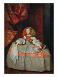 The Infanta Margarita Teresa (1651-1673) in a Pink Dress Giclee Print by Diego Velázquez