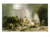 Lunatic Asylum Giclee Print by Francisco de Goya