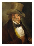 Goya Y Lucientes, Self-Portrait Giclee Print by Francisco de Goya
