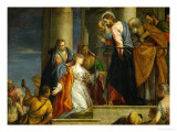 The Awakening of the Young Man of Nain Giclee Print by Paolo Veronese