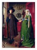 Jan van Eyck - Portrait of Giovanni Arnolfini and his Wife, c.1434 Digitálně vytištěná reprodukce
