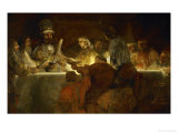 The Oath of the Batavians, from the History of Tacitus, 1662 Giclée-tryk af Rembrandt van Rijn