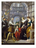 Henry IV Leaves for the War in Germany, March 20, 1610 Giclee Print by Peter Paul Rubens