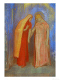 The Visitation Giclee Print by Odilon Redon