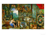 And Jan Brueghel: The Sight Giclee Print by Peter Paul Rubens