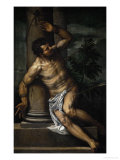 St. Sebastian, 1565 Reproduction proc&#233;d&#233; gicl&#233;e par Paolo Veronese
