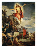 La Résurrection Reproduction procédé giclée par Paolo Veronese