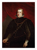 Philip IV of Spain Giclée-trykk av Peter Paul Rubens