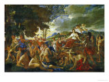 The Triumph of Flora Giclee Print by Nicolas Poussin