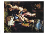 Madonna with a Fish, Around 1513 Reproduction proc&#233;d&#233; gicl&#233;e par Raphael 