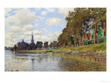 Zaandam, Netherlands, 1871 Reproduction procédé giclée par Claude Monet