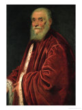 Marco Grimani, Venetian Senator (Died 1583), 1576-1583 Giclee Print by Jacopo Robusti Tintoretto