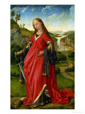 Saint Catherine of Alexandria Giclee Print by Rogier van der Weyden