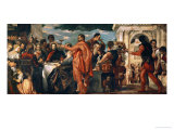 The Wedding at Cana (With Veronese's Self-Portrait) Reproduction procédé giclée par Paolo Veronese