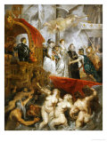 The Disembarkation of Marie De' Medici at the Port of Marseilles on November 3, 1600 Giclee Print by Peter Paul Rubens