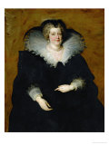 Maria De' Medici, Queen of France, Wife of Henry IV Giclee Print by Peter Paul Rubens