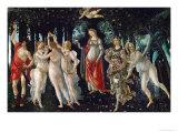 La Primavera, Foråret, 1477 Giclée-tryk af Sandro Botticelli