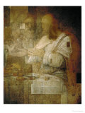 The Apostle Simon, Detail from Leonardo's Last Supper, 1498 Giclee Print by  Leonardo da Vinci