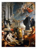 The Miracle of Saint Francis Xavier Reproduction proc&#233;d&#233; gicl&#233;e par Peter Paul Rubens