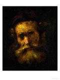 A Rabbi Giclee Print by  Rembrandt van Rijn