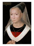 Portrait of a Young Woman, 1480 Giclee Print by Hans Memling