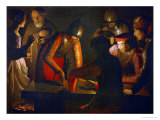 The Denial of Saint Peter, 1650 Giclee Print by Georges de La Tour