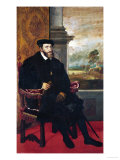 Emperor Charles V (Karl V), 1548 Giclee Print by Titian (Tiziano Vecelli) 