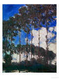 Poplars on the Epte River, 1891 Giclee Print by Claude Monet