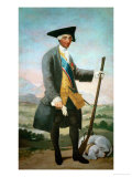 Carlos III (1716-1788)In Hunting Costume Giclee Print by Francisco de Goya