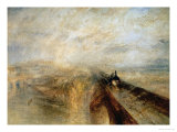 Rain, Steam, and Speed Reproduction procédé giclée par William Turner