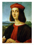 Pietro Bembo (1470-1547), Later Cardinal, in His Youth Giclee Print by  Raphael