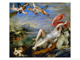 The Rape of Europa Giclée-Druck von Peter Paul Rubens