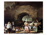 Procession of Flagellants Near an Arch, 1813 Giclee Print by Francisco de Goya